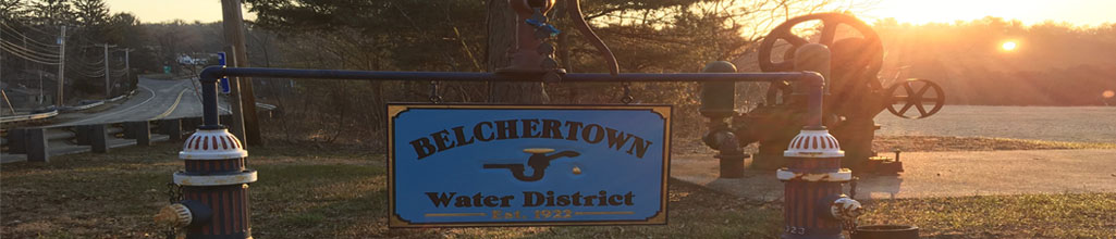 water district sign